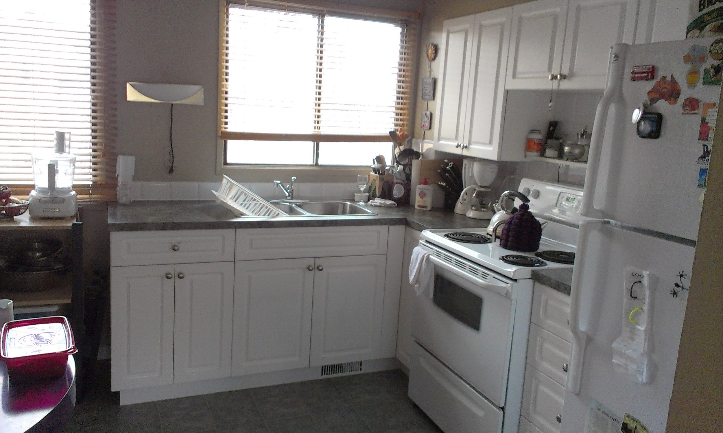 Kitchen: Two Bedroom Unit