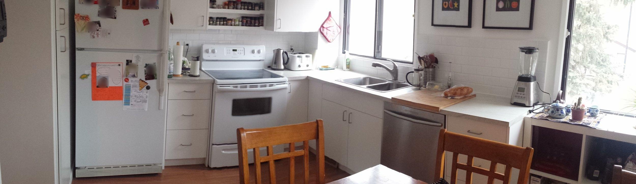 Kitchen: Three Bedroom Unit