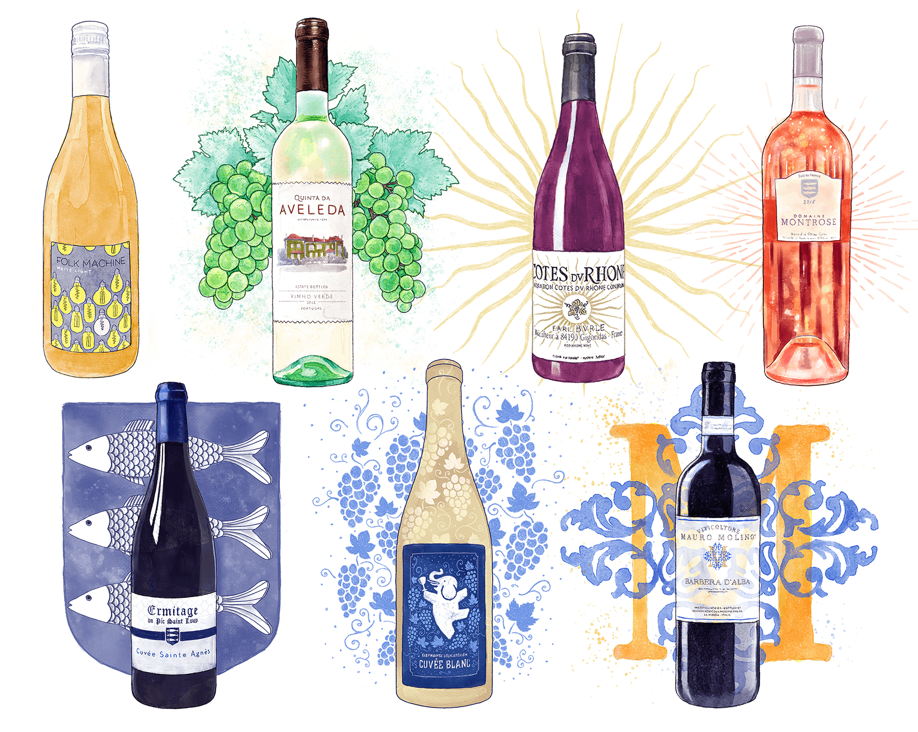 Wine of the Month Art