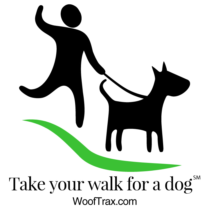 Walk For A Dog   Take your Walk for a Dog! Go to  WoofTrax.com , download the app, and support your local animal shelter every time you walk your dog.