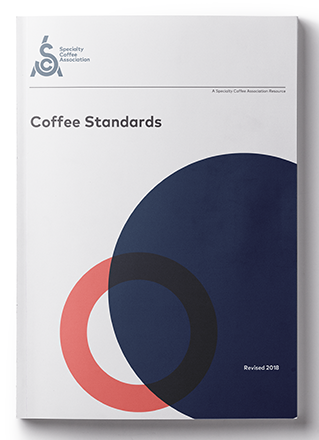 Coffee Standards  Standards are a great tools for the coffee industry as they are trusted reference instruments established by knowledgeable subject-matter experts. An SCA standard is a high-quality recommendation by the Standards Committee. It is a quantifiable and qualifiable measure, based upon scientific testing, which set values and/or ranges of values for coffee. Currently, the SCA has standards for water, green coffee, and cupping coffee.   Download