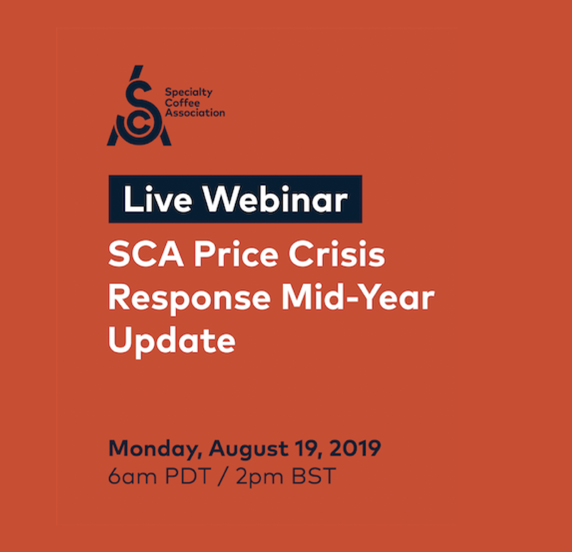 Coffee Price Crisis Webinar: Mid-Year Update on the SCA's Response