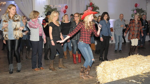You can expect loads of dancing and don't be surprised when a few country favorites come on. (Photo: Richard Lewin)