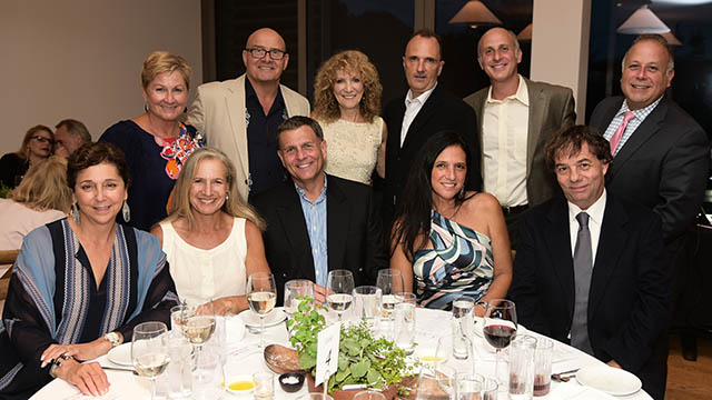 East Hampton Chamber of Commerce members with Julie Ratner. (Photo: Rob Rich/SocietyAllure.com)