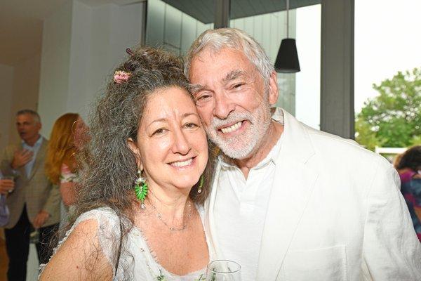 Julie Feldman and John Gabree (Photo: Dana Shaw Photos)