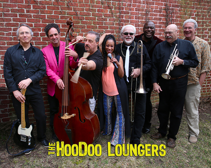"Featuring the HooDoo Loungers   For ten years, the HooDoo Loungers have performed their brand of New Orleans inspired R&B, Soul and Swing to audiences all over the East Coast. Local favorites (band leader Joe Lauro lives in Sag Harbor) the band are regulars at The Stephen Talkhouse and Bay Street Theater. Their latest album 'HEAD & HEART & HIPS' was awarded the Best CD of the Year by the L.I. Blues Society. The nine-piece band lets ""the good times roll"" at each performance so expect to seriously venture out to the dance floor!"