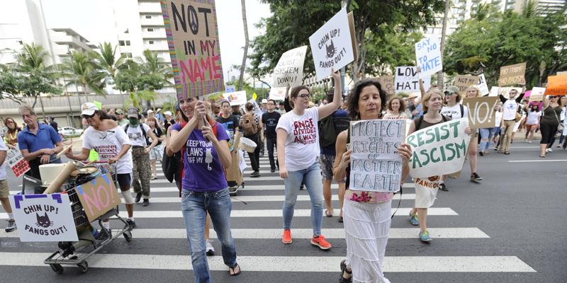 January 20 Anti-Trump March
