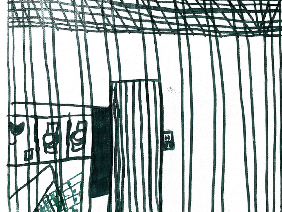 Pictures drawn by migrant children who were recently released from CBP custody depict conditions inside detention facilities. Source:  CNN
