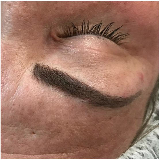 HEALED microblading results!