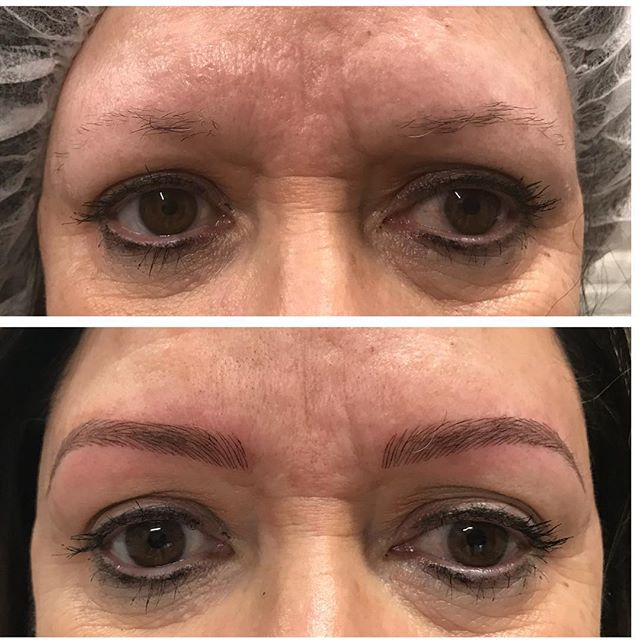 New, natural brows for this lovely lady!