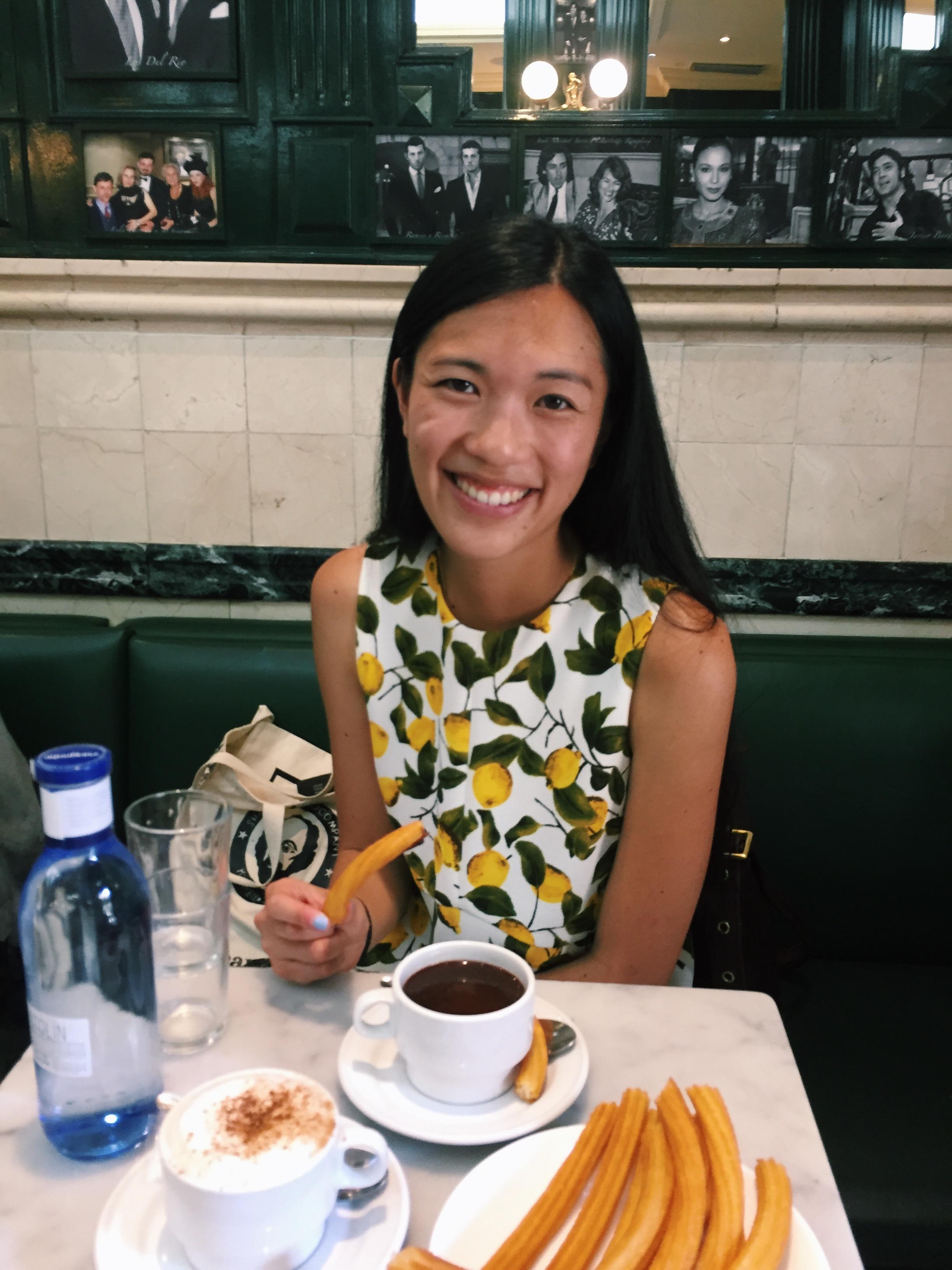 Kelsey in Madrid