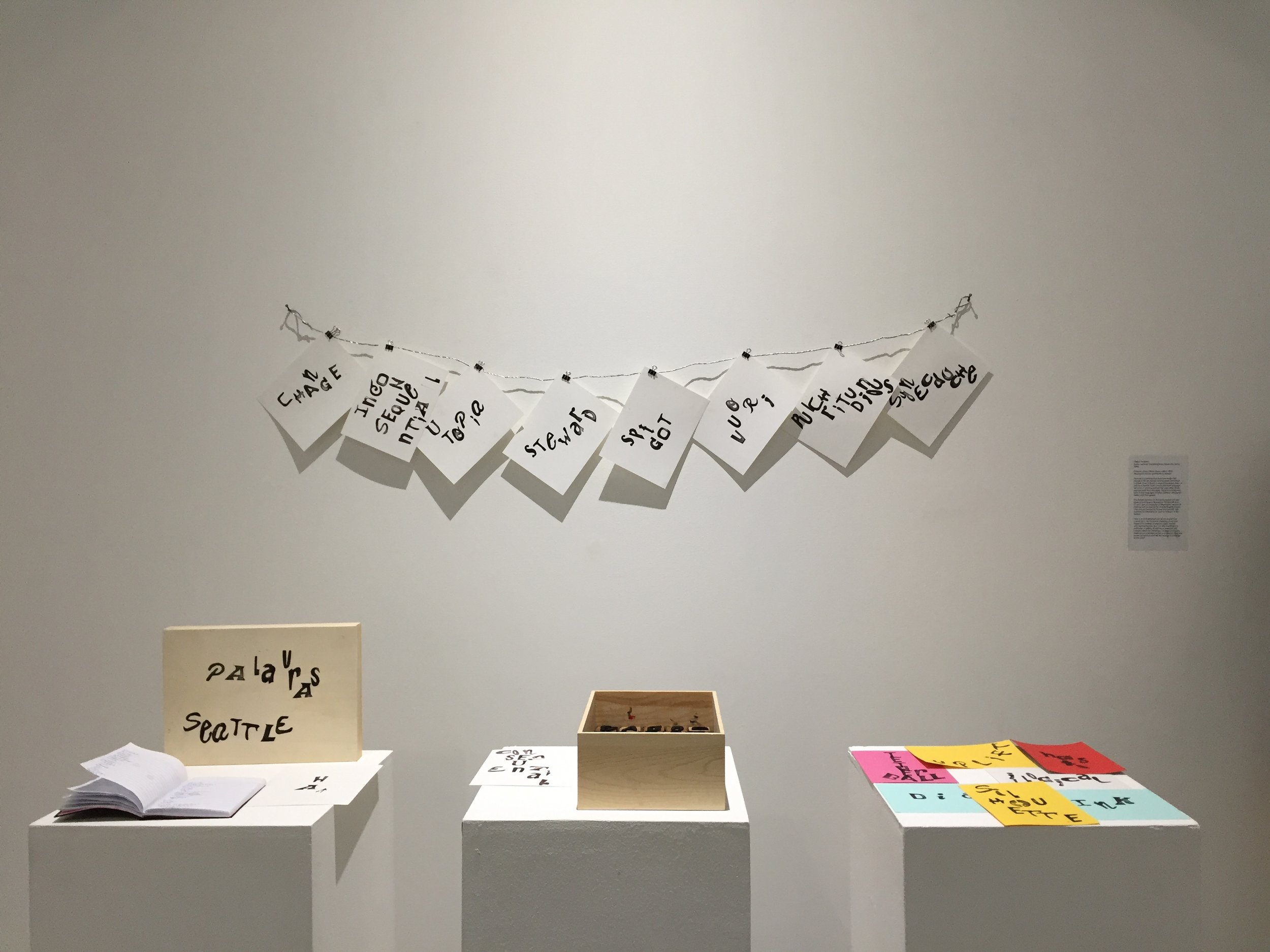 Instructor Timea Tihanyi's Word Exchange collection from all round the world. This one is specifically for Seattle, WA.