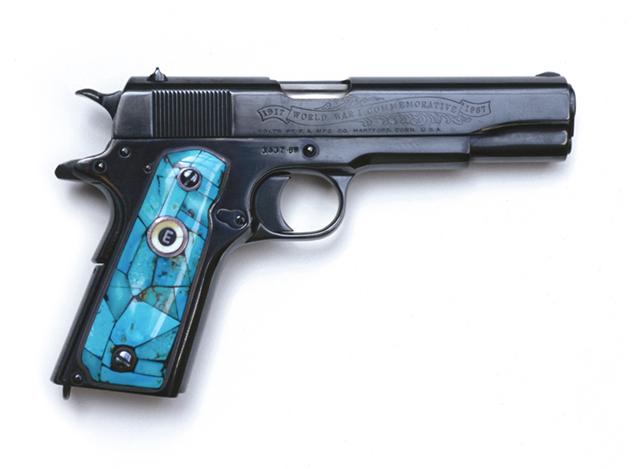 Elvis's .45 Colt Pistol, 2003