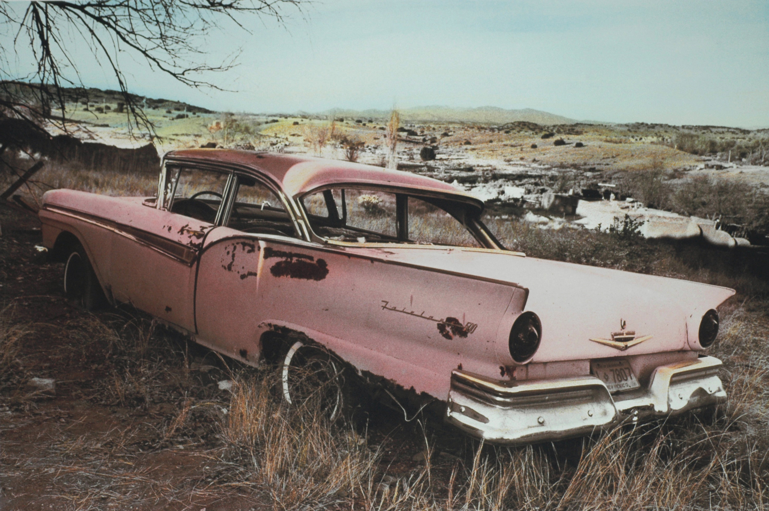 Pink Ford, Photographed in New Mexico