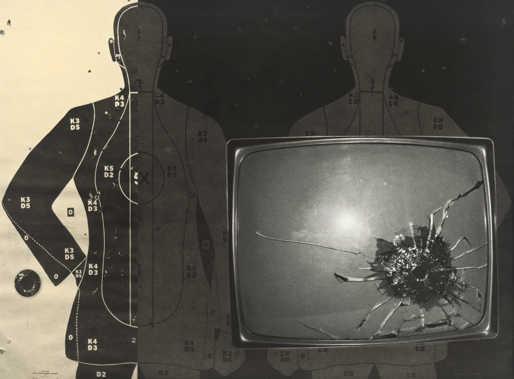 TV with Bullet Hole, 2006