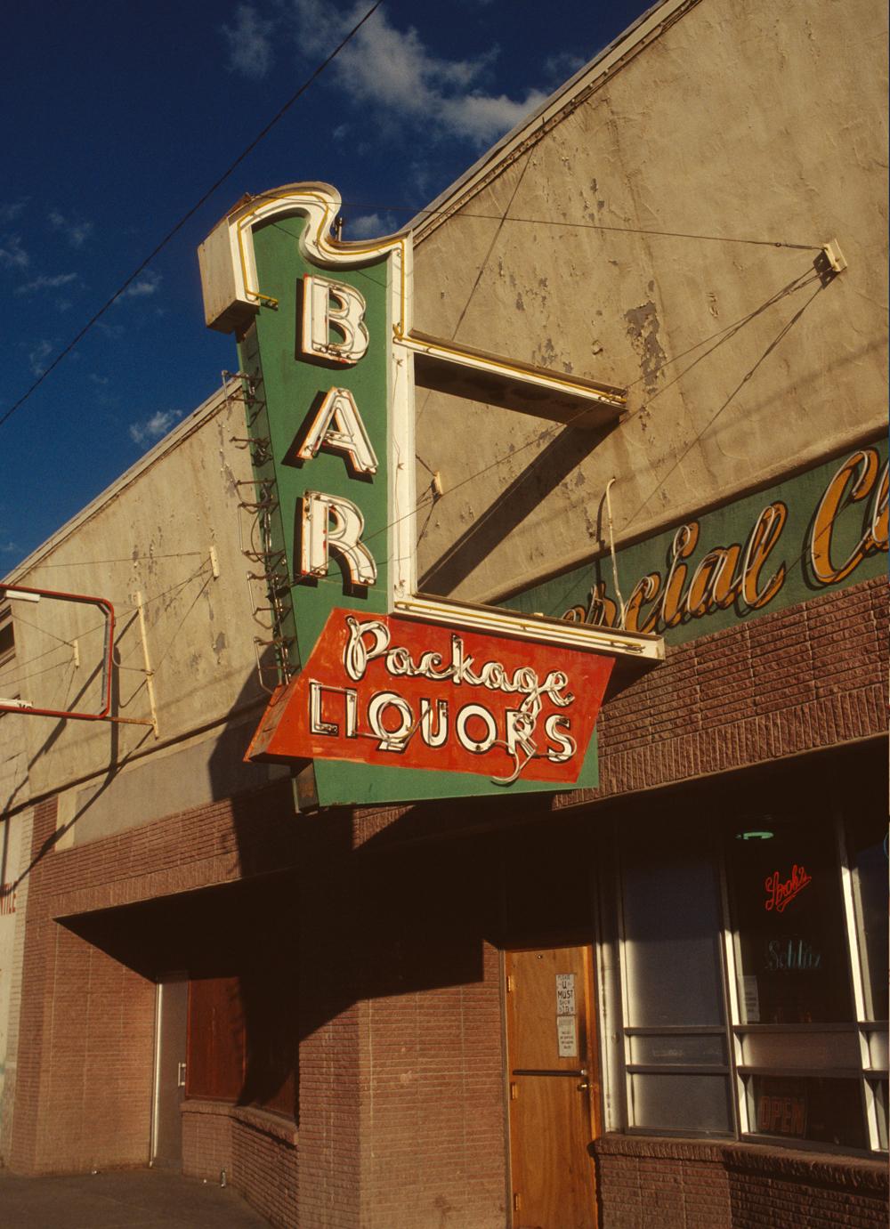 Bar, photographed in Colorado
