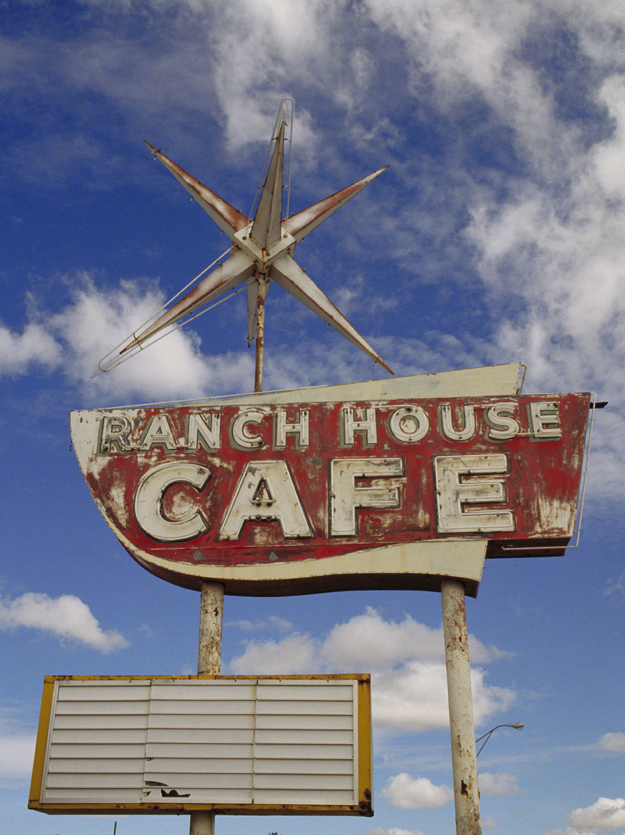Ranch House Cafe, photographed in New Mexico
