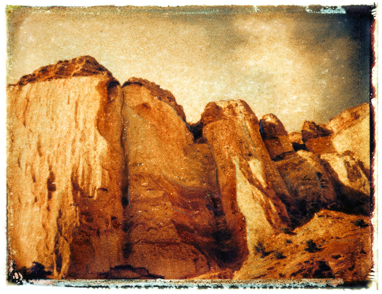 Echo Canyon, New Mexico