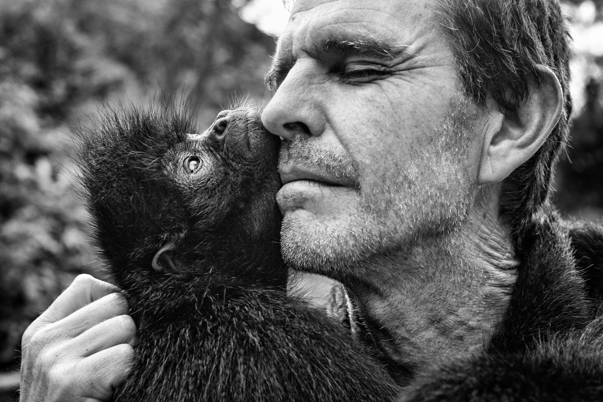 PHOTO: TRACEY BUYCE Marcelo Levy, Co-Founder of La Senda Verde, has a special bond with the creatures of La Senda Verde.*