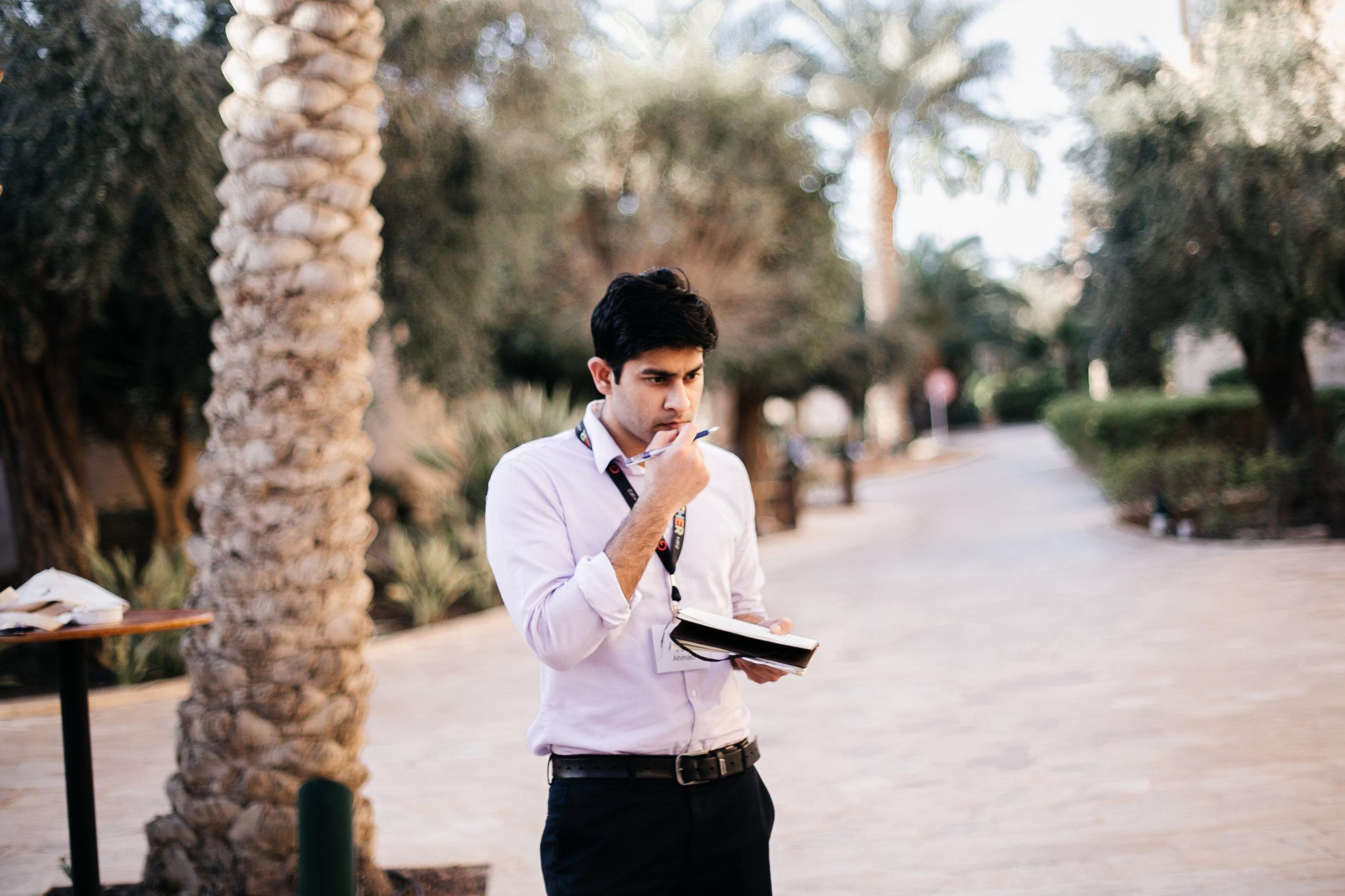 Ayyaz Ahmed, photo by Maggie Svoboda