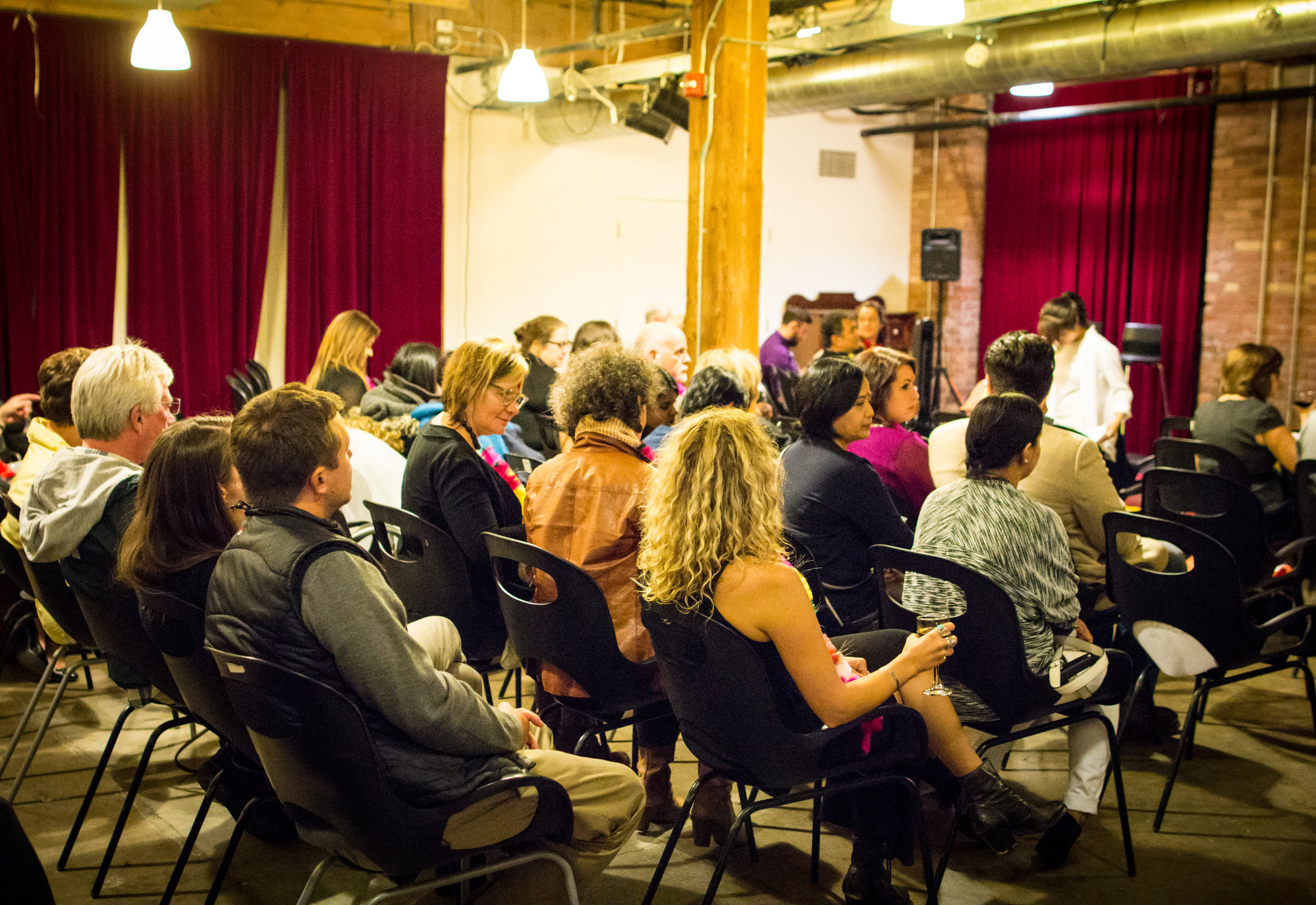 Hosted at the Centre for Social Innovation in Toronto, the event space was packed with guests eagerly awaiting the episode screening.