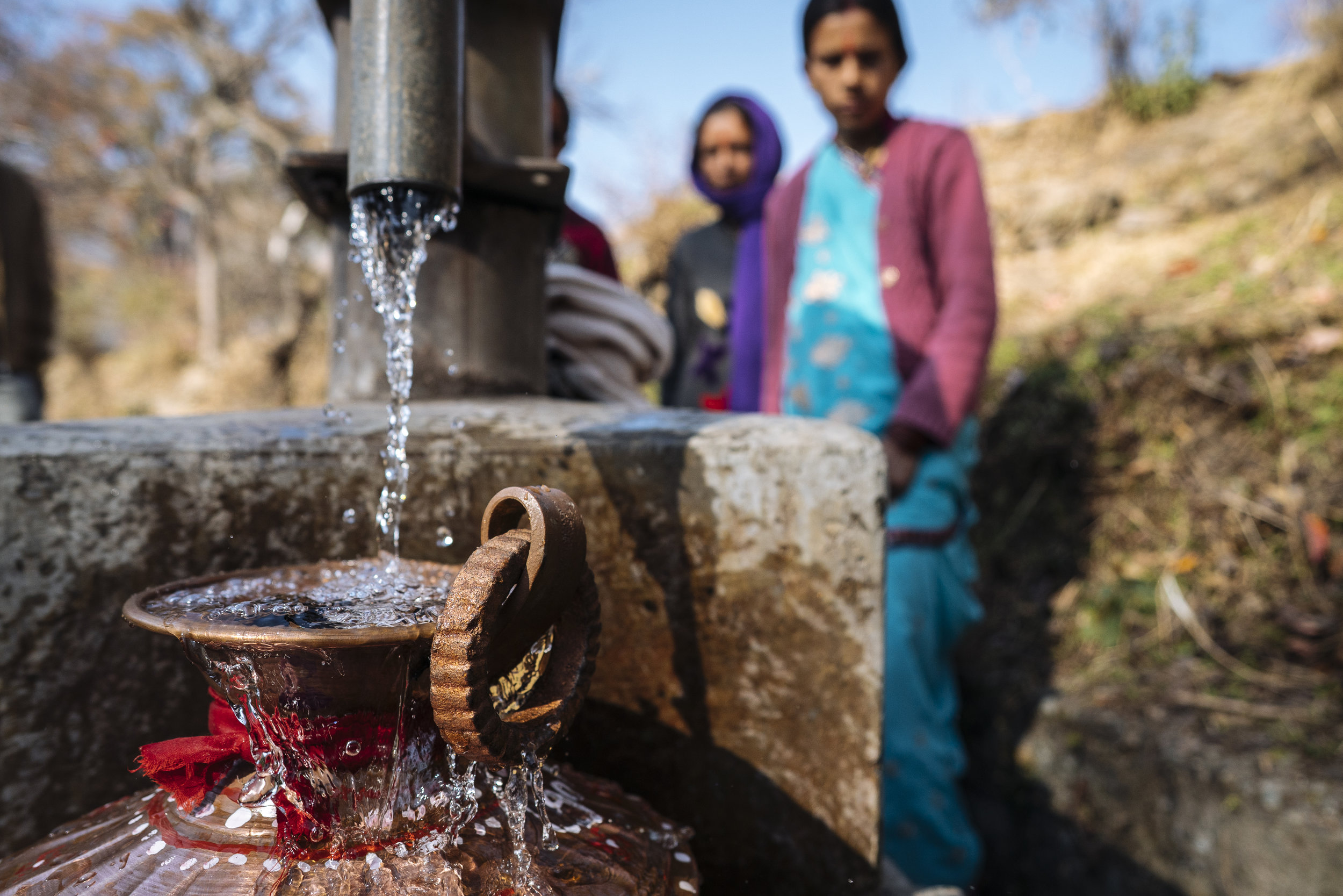 Clean drinking water and sanitation are just some of the organization's current projects.   PHOTO: Matthew Delorme