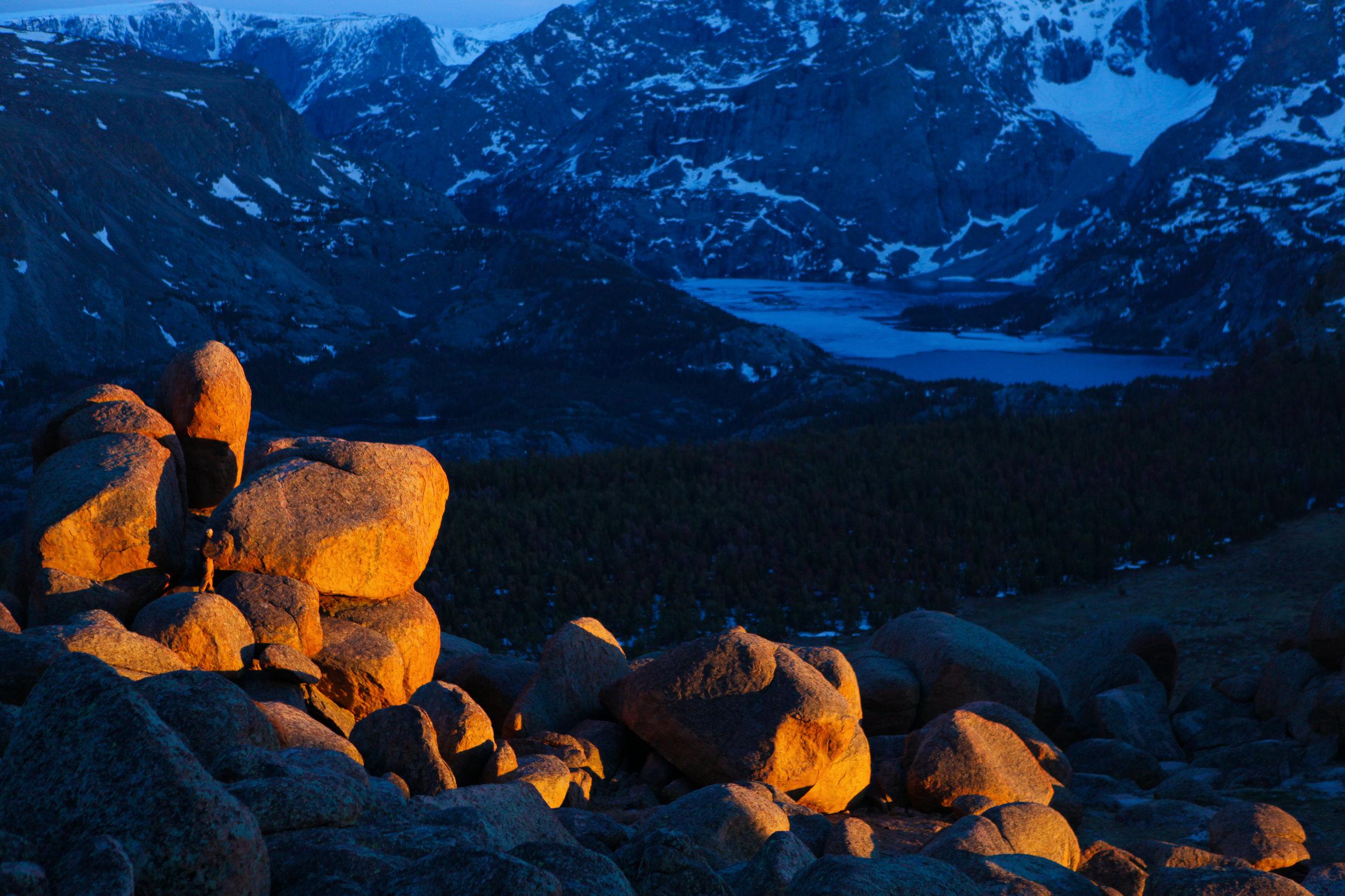 Wind River Range, Wyoming.  PHOTO: Matt Stirn
