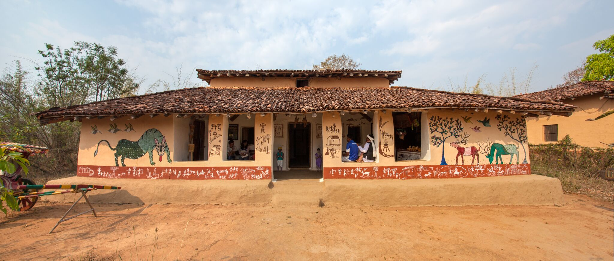 The Corbett Foundation (TFC) has built a tribal museum at Kanha to share the history and culture of local tribes.  PHOTO: Byron Flateland