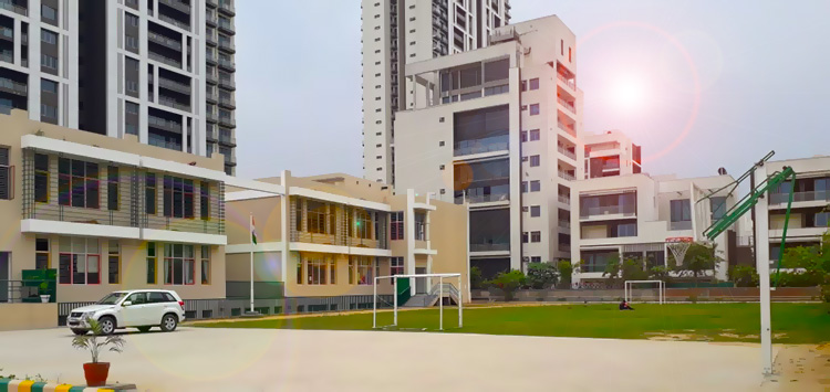 Our New Nursery, Primary, Sr School & DAYCARE campus has commenced soft operations with effect from April 2019 at Tata Primanti garden estate, Sector 72, Golf Course Extn Road, Near Tatvam Villas Club, Gurgaon