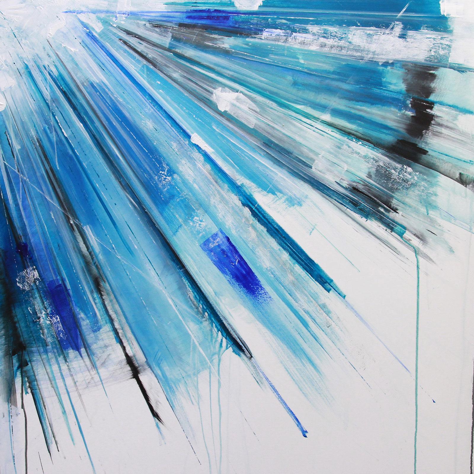 'Helena' 100 x 100 cm acrylic on canvas