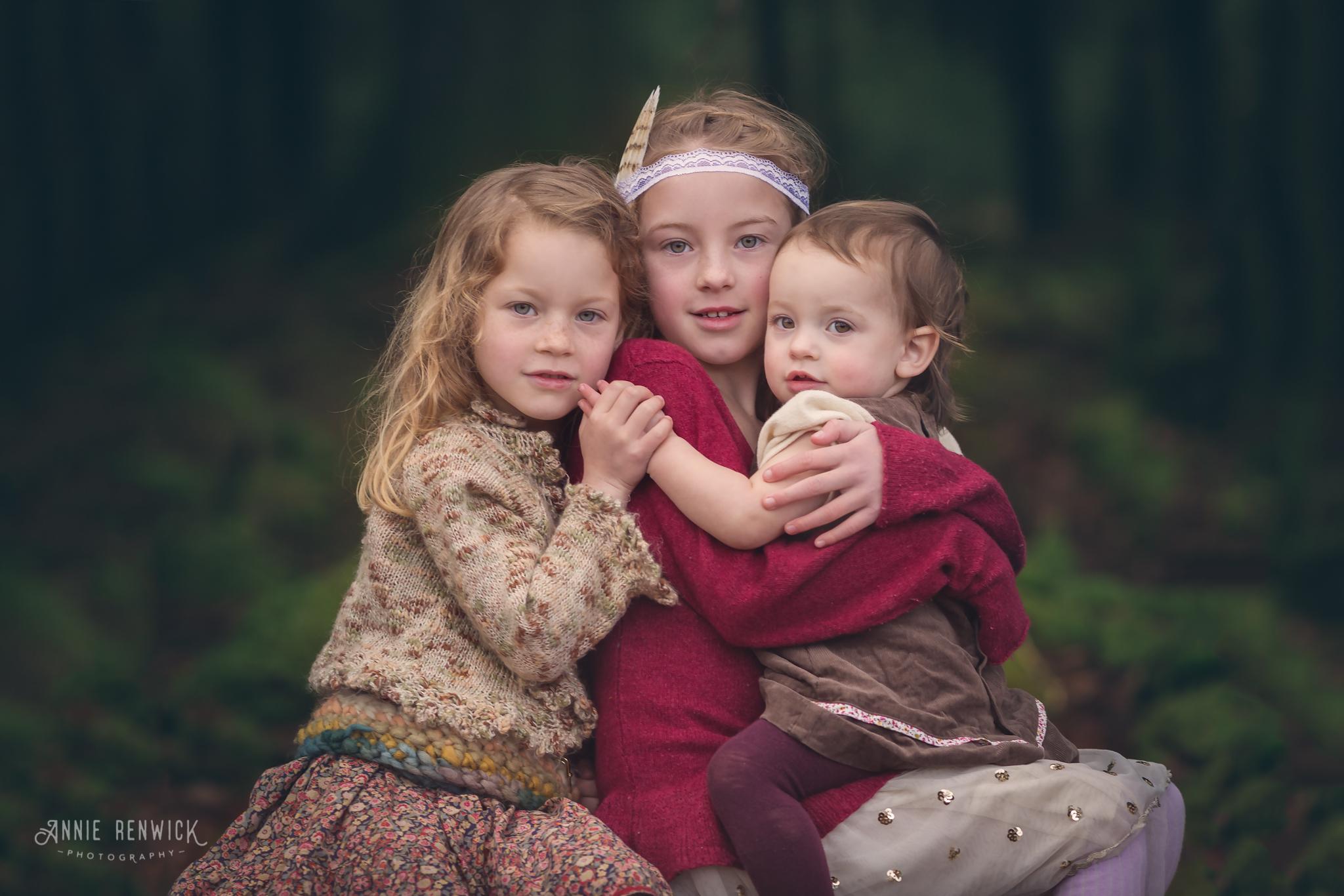 devon dartmoor forest sisters fine art portrait