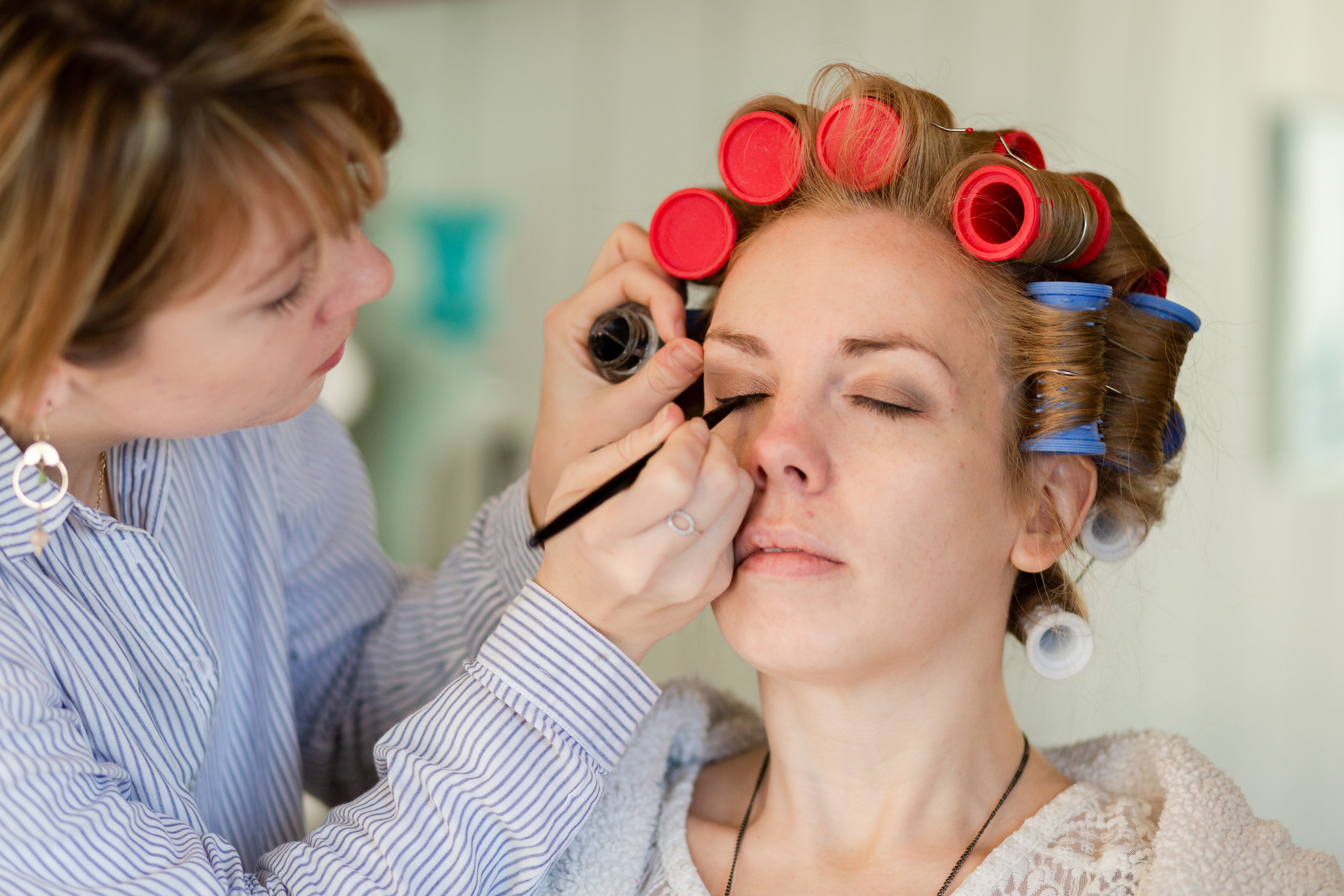 Wedding Hair Make Up Business Branding Dartmoor