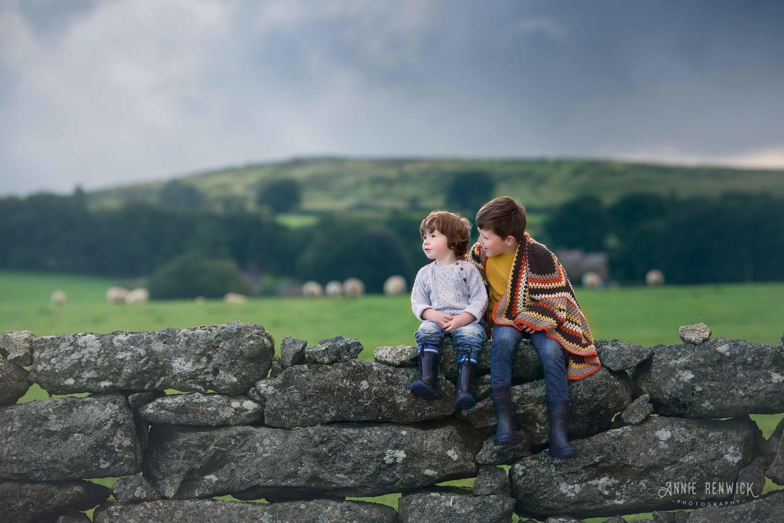 Dartmoor with young children