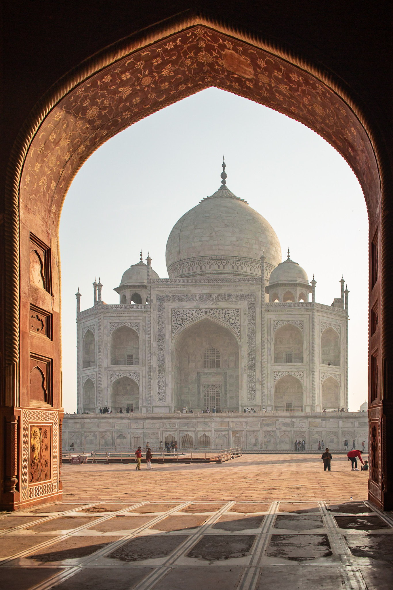 Taj Mahal from Mosque