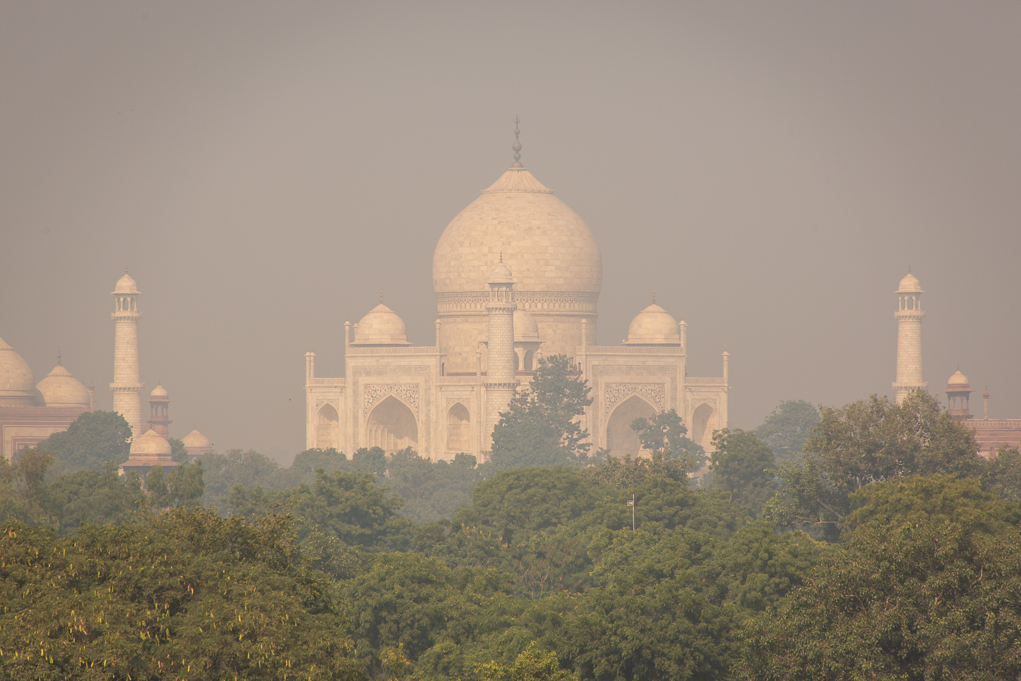 After we had visited The Taj Mahal we stopped at a nearby Hotel for breakfast, with the best view!