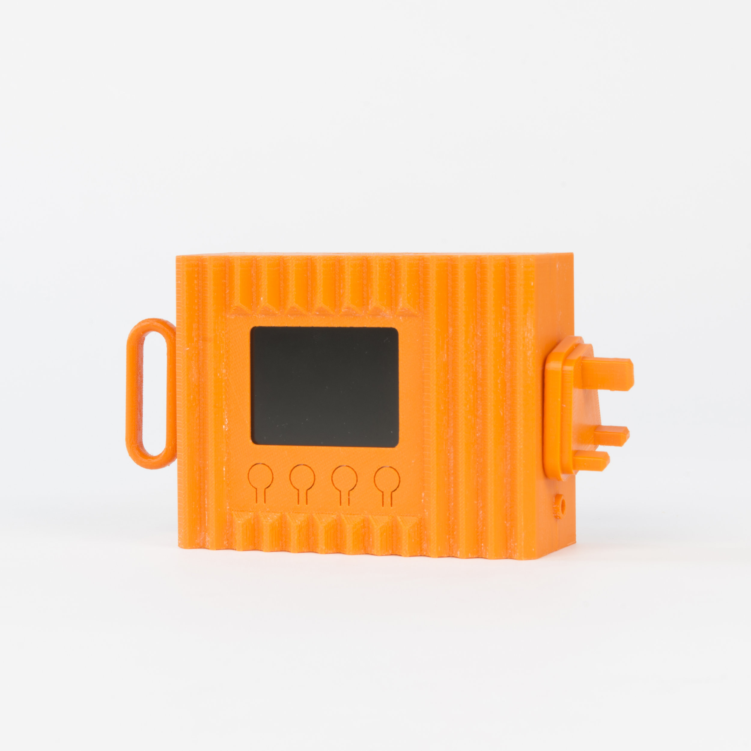 Threaded Case Camera    This housing features four threaded sockets that allow a number of accessories to be attached, enabling the camera to be used in different situations.  more