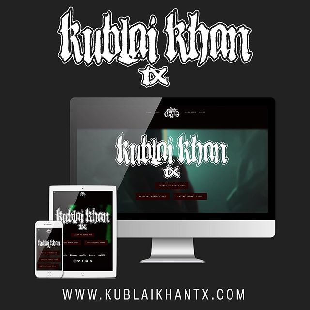 New @kublaikhantx website I designed is up! This one was fun.