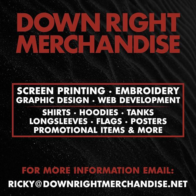 Need some merch for those upcoming summer runs? Shoot me an email I'll get you sorted out! @downrightmerchandise