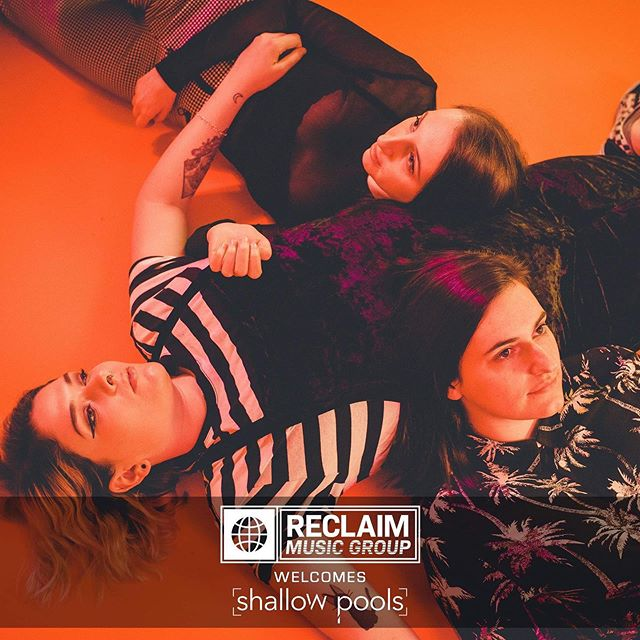 Excited to be taking on such an incredible act made of wonderful humans. @shallowpoolsma @reclaimmusicgroup
