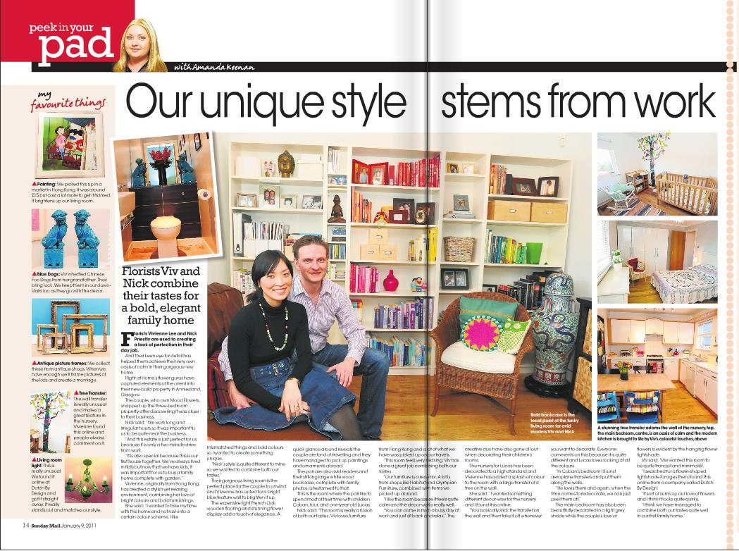 Sunday mail 09.01.11 Nick and Viv article.JPG