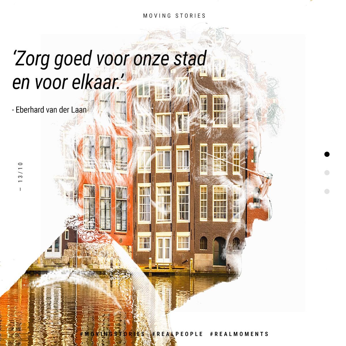 Moving Story - Eberhard van der Laan