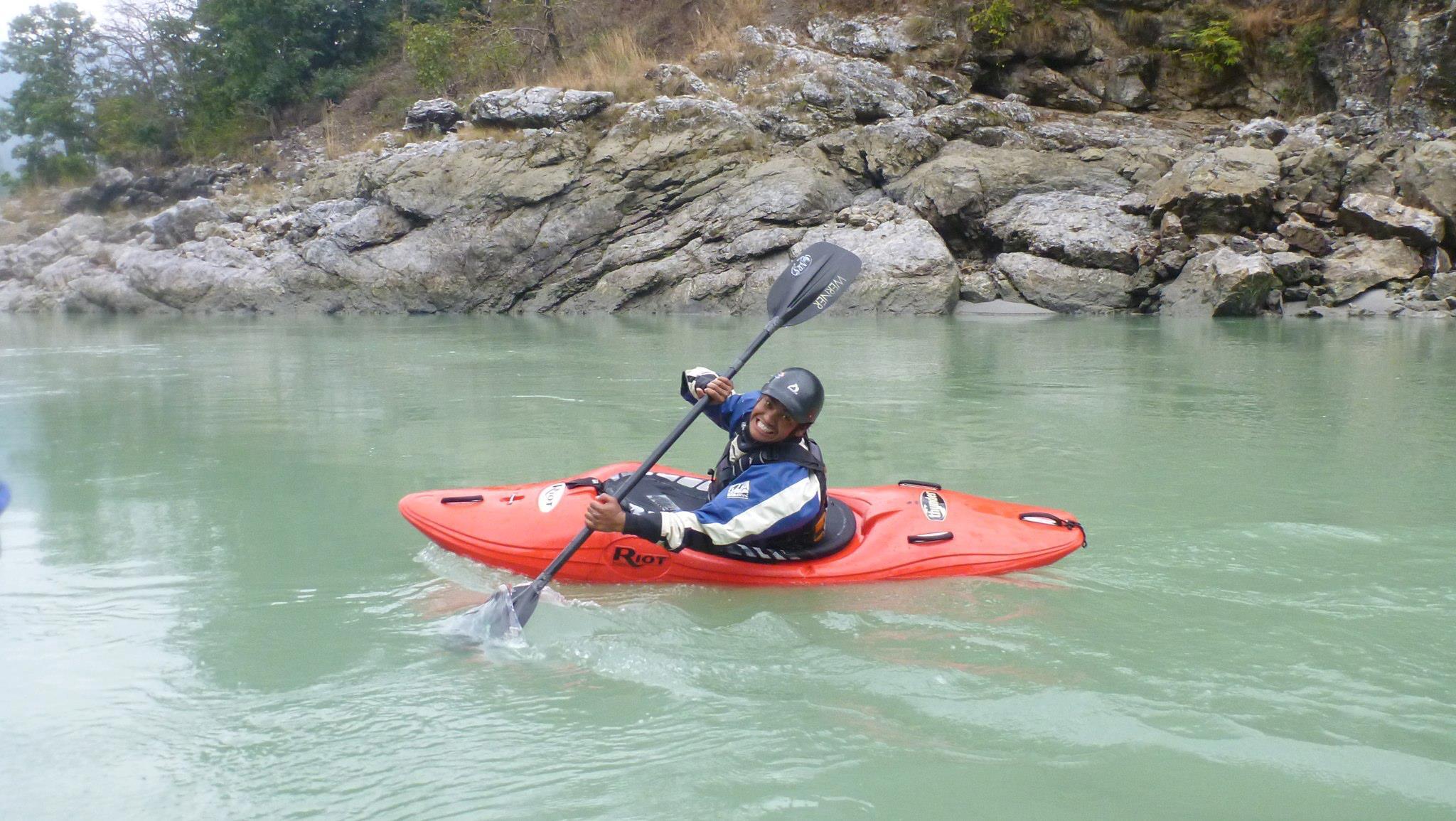 Pramod Magar, River Guide + Kayak Instructor