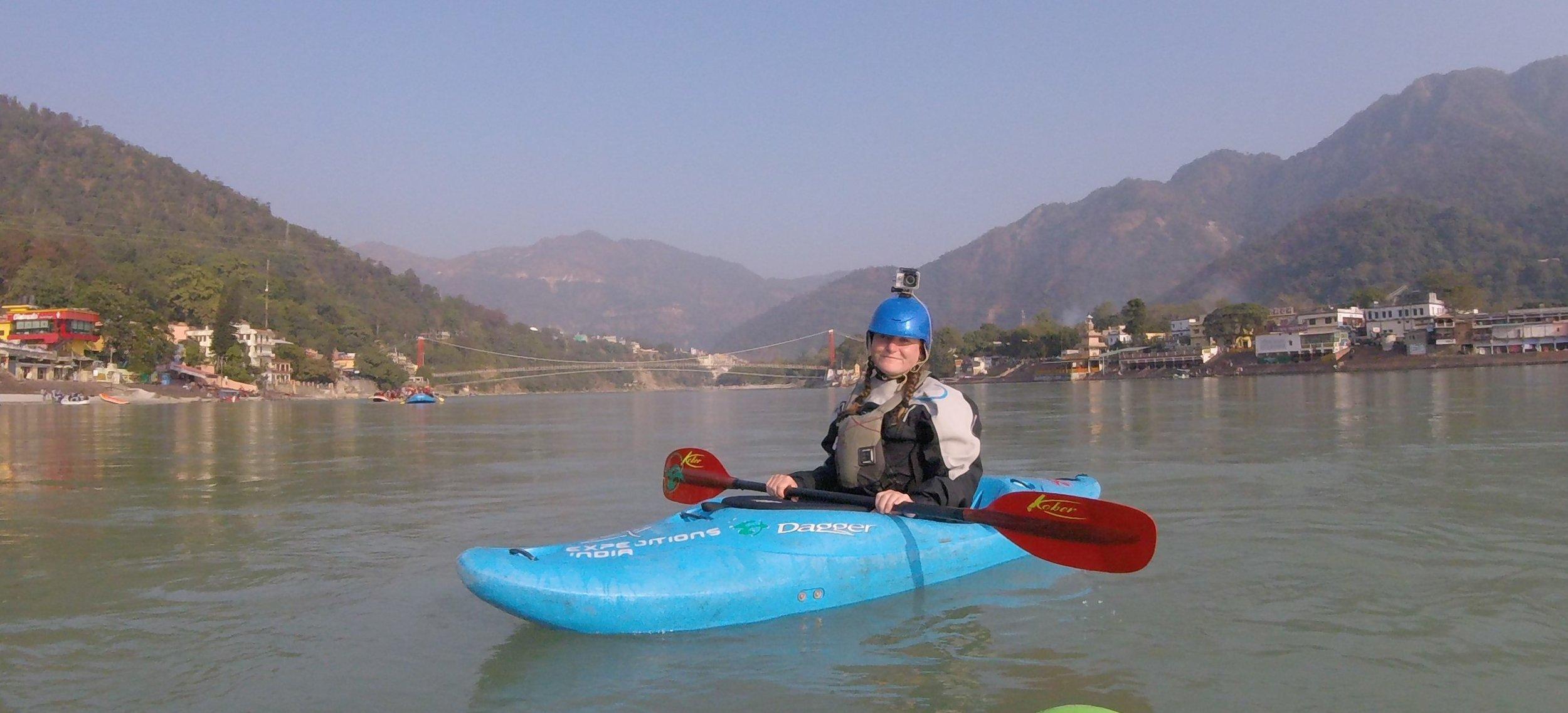 Ann Jenks, Visiting River Guide