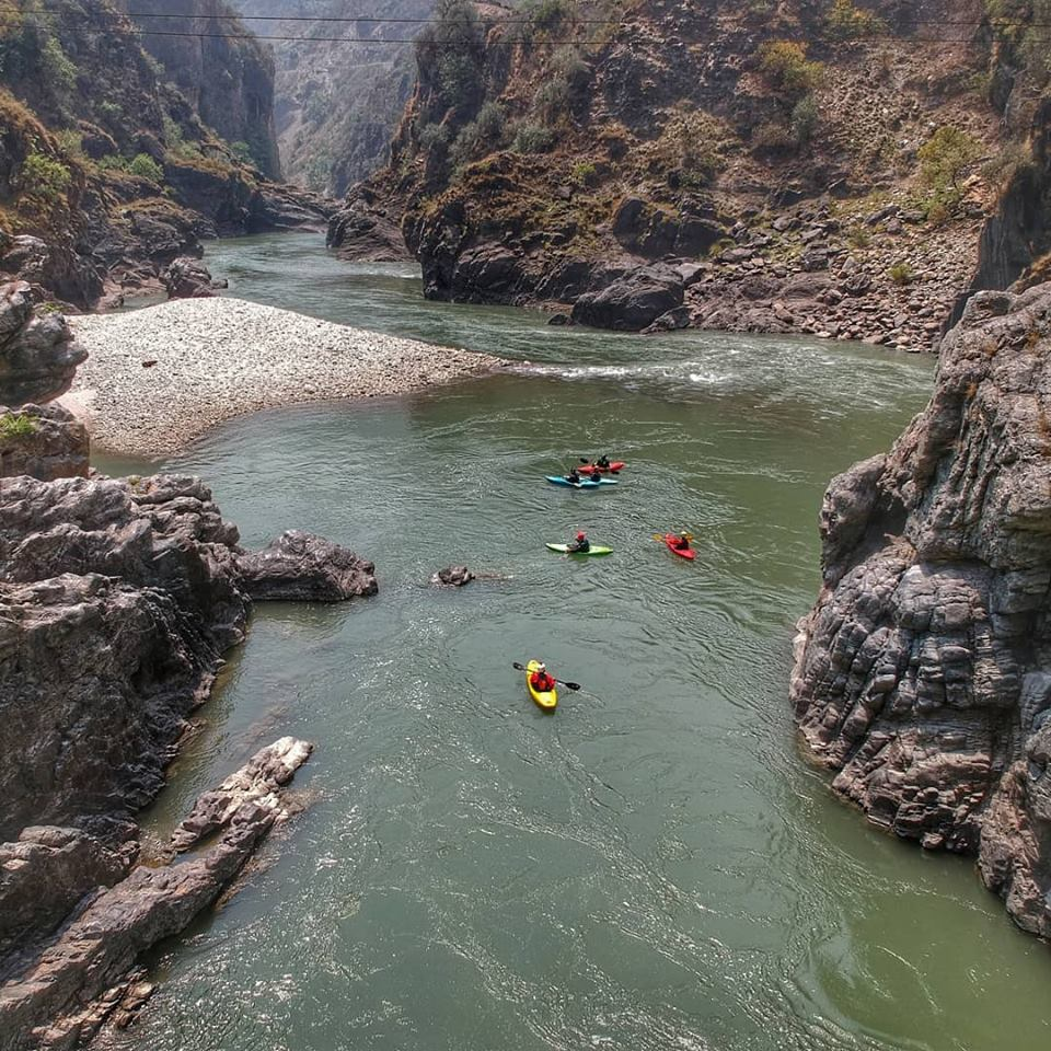 10) We are grateful for re-visiting rivers that we haven't been to in a long time.