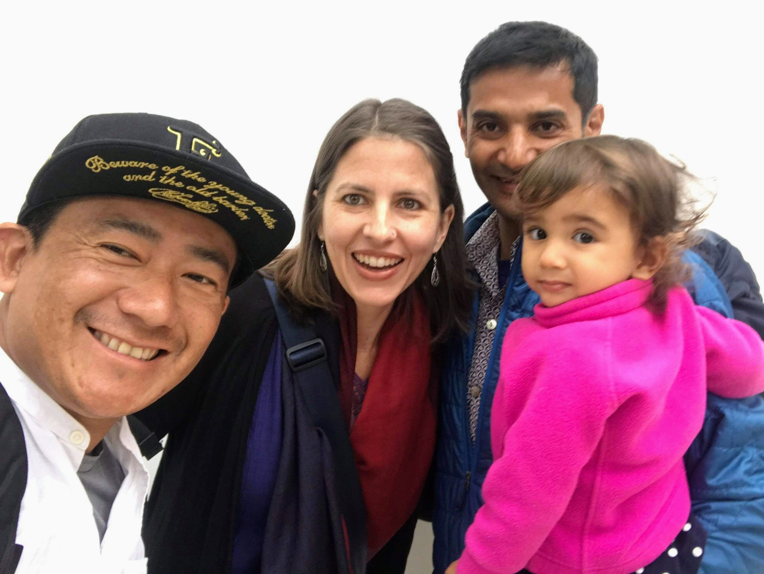 We were grateful that our friend and teammate, Bishnu Gurung, happened to be in Delhi and could join us.