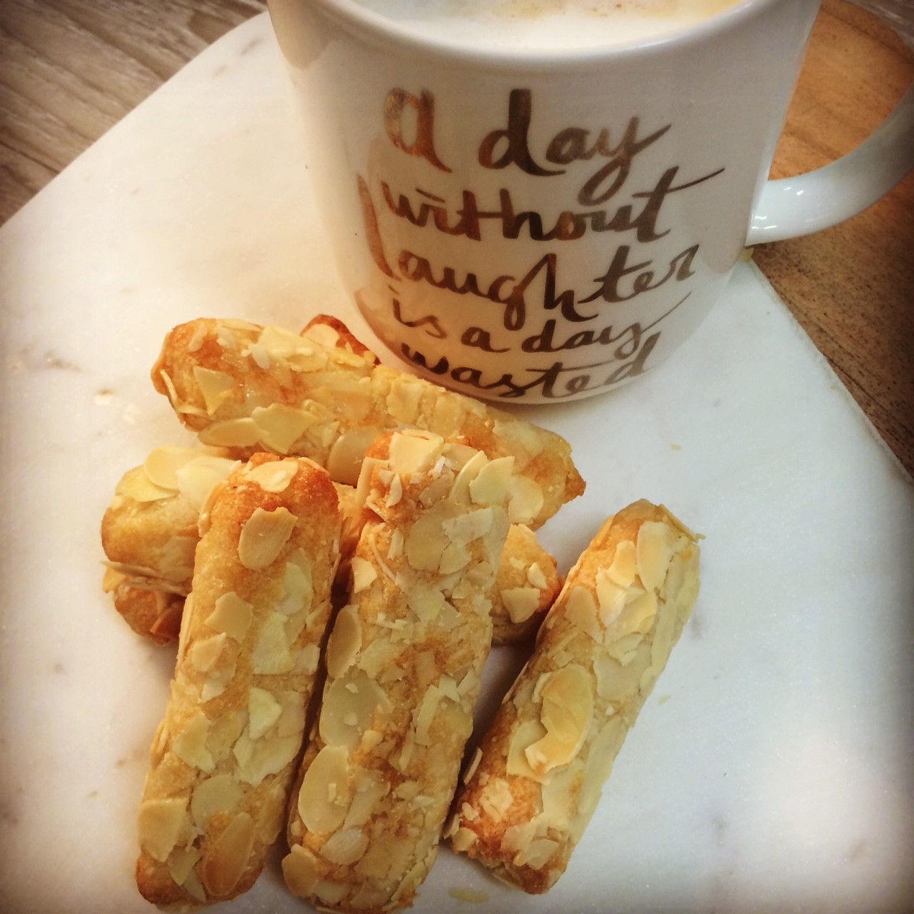 Almond Fingers (Gluten Free)    Cafe/Deli- Wholesale 12pk