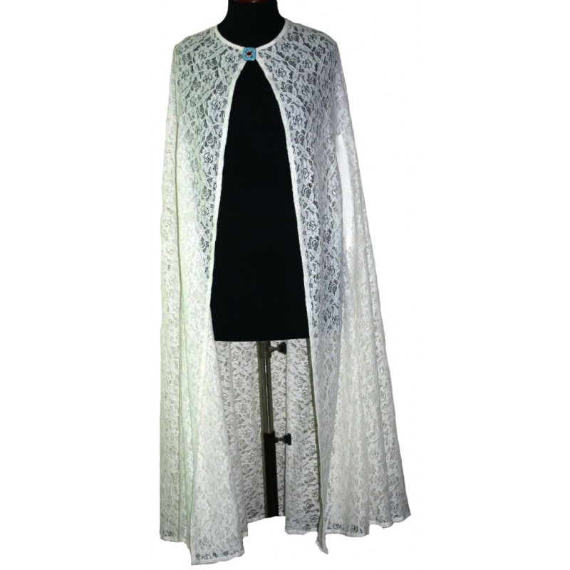 Long net cape