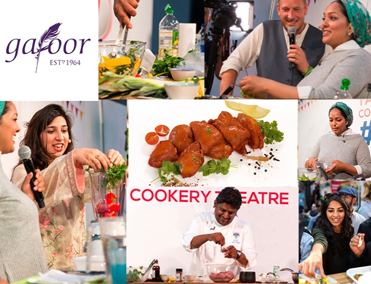 GAFOOR PURE HALAL COOKERY THEATRE - Discover delicious halal recipes, live cookery demos and expert tips from top celebrity chefs in the Gafoor Pure Halal Cookery TheatreMEET THE CHEFS