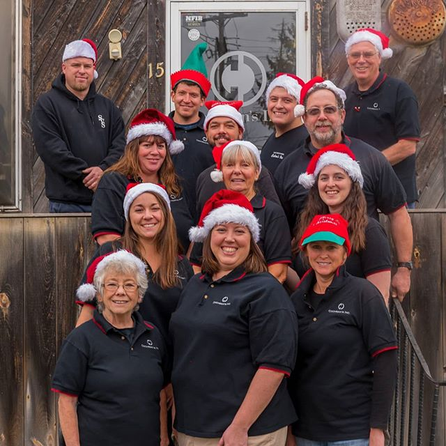 Merry Christmas and happy new year from everyone at Cochran's Inc! . . . Our office will be closed until Jan. 7th, we'll see ya next year!! . . . #happyholidays #happynewyear #santahats #team