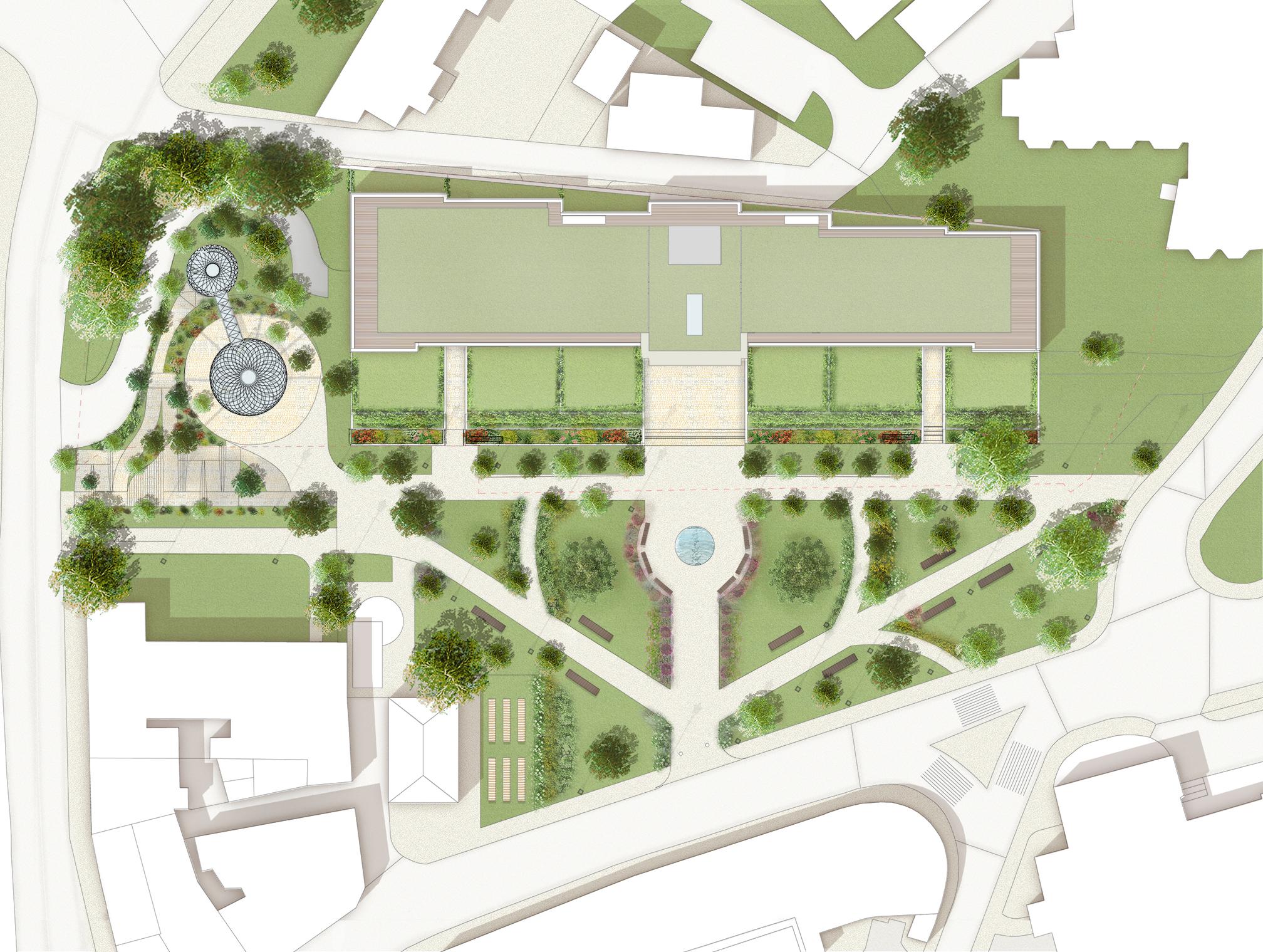 Crescent Gardens Site Plan